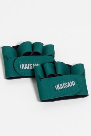 Caleira para Academia Unissex (Verde Musgo) | Neoprene | Logo Refletiva Kaisan | (O Par) | Ref: KS-F55-008