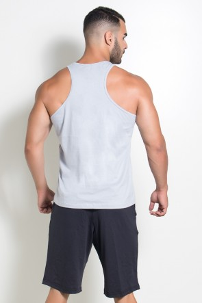 Camiseta Regata (Big Man) (Cinza) | Ref: KS-F526-004