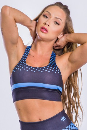 Top Sublimado Neon Blue | Ref: K2486-A