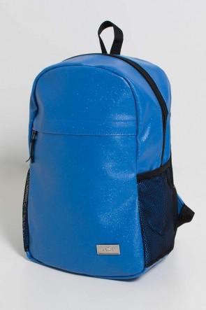 Mochila com Brilho (Azul Royal com Glitter) | Ref: KS-MF11-002