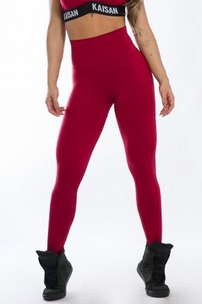 Calça Legging Levanta Bumbum (Vinho) | Ref: K2429-B