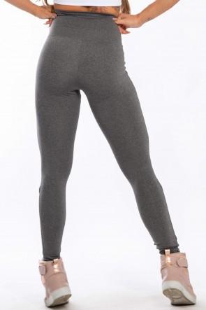 Calça Legging Mescla com Abertura no Joelho (Mescla) | Ref: F1611-003