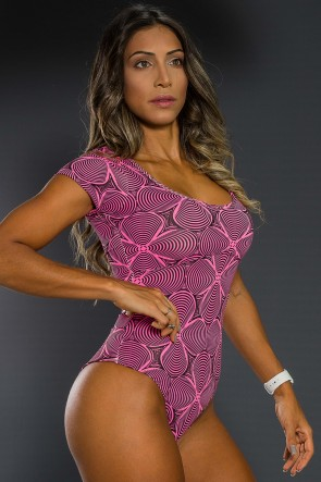 K2564-A_Body_Estampado_com_Manguinha_Rosa_com_Ondulado_Preto__Ref:_K2564-A