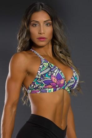K2566-C_Top_Fitness_Estampado_Tribal_Colorido_com_Flor_Roxa__Ref:_K2566-C