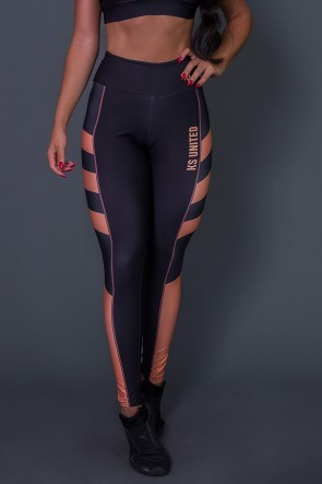 Calça Legging Orange Hive | Ref: K2599