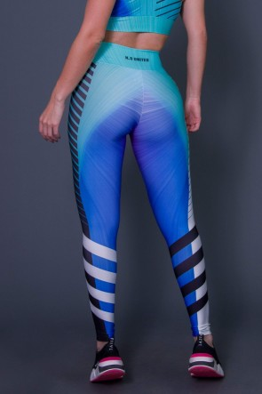 Calça Legging Boreal Lights | Printed: K2602