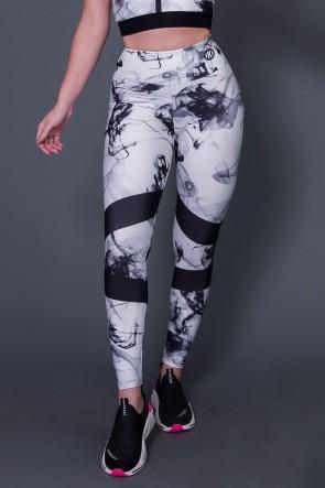 Calça Legging Black Abstract | Ref: K2616
