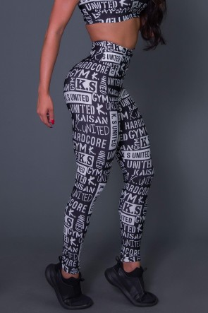 Calça Legging Black Urban | Ref: K2622-C