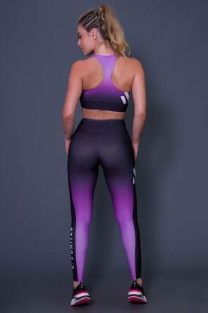 Calça Legging Purple Drizzle | Printed: K2642-B
