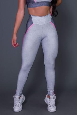 Calça Legging Pink Gray And Lead | Ref: K2657