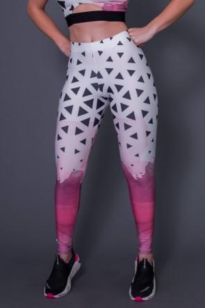 Calça Legging Com Cós de Elástico Embutido Three Sided Art   Ref: K2660