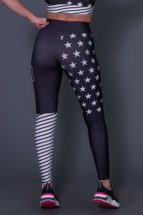 Calça Legging Night Star | Printed: K2664