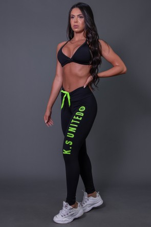 K2582-C_Calca_Legging_Fitness_com_Cadarco_e_Silk_KS_United_Preto__Verde_Fluor__Ref:_K2582-C