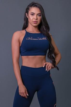 K2593-B_Top_Fitness_Transpassado_com_Silk_Assinatura_Azul_Marinho__Salmao__Ref:_K2593-B