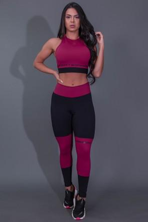 K2684-B_Calca_Legging_Fitness_com_Ponto_de_Cobertura_e_Silk_Preto__Vinho__Ref:_K2684-B