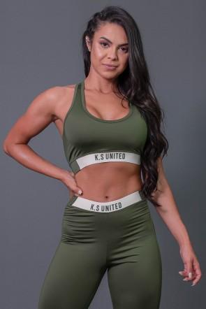 K2685-C_Top_Fitness_Nadador_com_Detalhe_de_Elastico_e_Silk_Verde_Militar_Off-White__Ref:_K2685-C