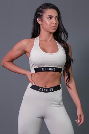 K2685-D_Top_Fitness_Nadador_com_Detalhe_de_Elastico_e_Silk_Off-White__Preto__Ref:_K2685-D