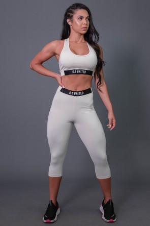 K2687-D_Corsario_Fitness_com_Elastico_e_Silk_Off-White__Preto__Ref:_K2687-D
