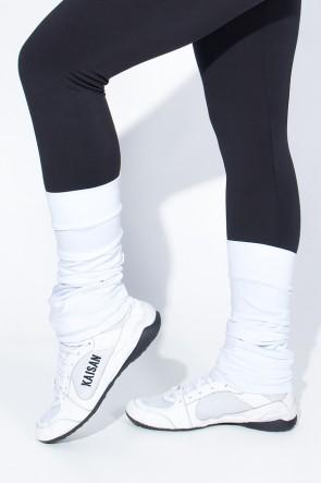 Polaina Fitness Lisa (O Par) (Branco) | Ref: KS-F182-006