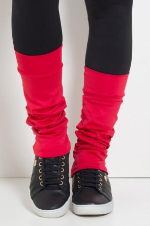 Polaina Fitness Lisa (O Par) (Vermelho) | Ref: KS-F182-009