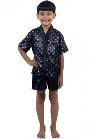 Pijama Infantil Camisa + Short 012 | Ref: P08