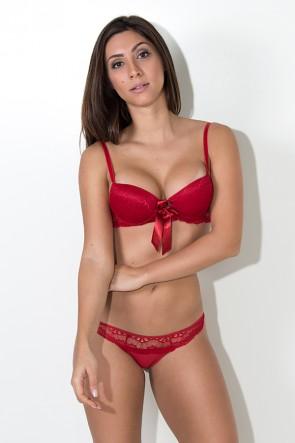 Conjunto Monique 2388 (Vermelho) | Ref: KS-B209-001