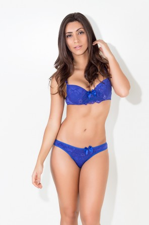 Conjunto Alice (Azul Royal) | Ref: KS-B215-001