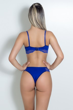 Conjunto Charmoso (Azul Royal) | Ref: KS-B218-002