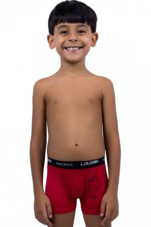 Cueca Boxer Infantil Romantic | Ref: C35