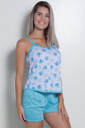 Babydoll Feminino 025 (Azul)