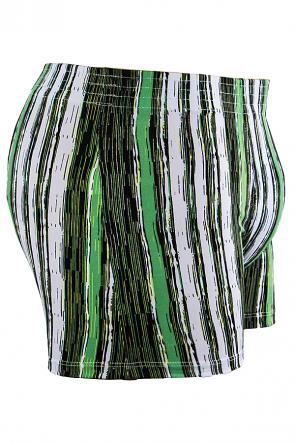 Cueca Boxer 4 Agulhas Microfibra 494 (Avulsa) Verde | Ref: CEZ-CZ494-003