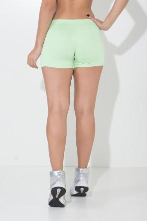 Shortinho Suplex Liso (Verde Claro) | Ref: KS-F60-012