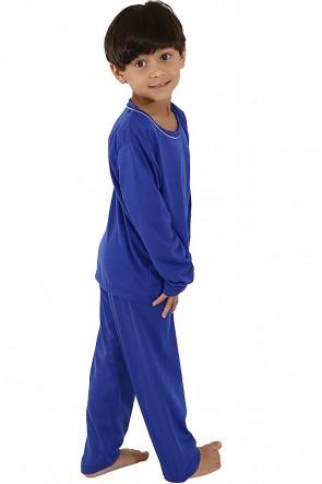 Pijama Infantil Longo 078 (Azul) CEZ-PA078-001