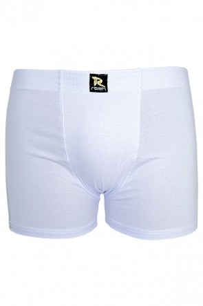 Kit com 2 Cuecas Boxer 221 - Cotton (BRANCA)