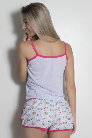 Babydoll de malha 102 (Pink) | Ref: CEZ-PA102-007