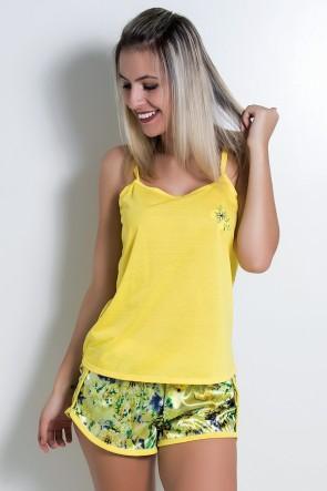 Babydoll Feminino 067 (Amarelo) - AB