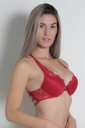 Sutiã Eliza 802 (Vermelho) | Ref: CEZ-DK802-001