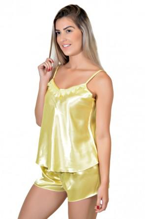 Babydoll Feminino 003 (Amarelo) CEZ-PA003-003