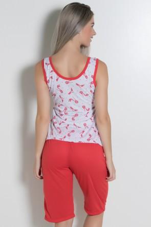 Pijama Pescador 243 (Vermelho) CEZ-PA243-002