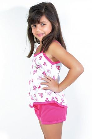 Babydoll Infantil 086 (Pink) - AB