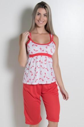 Pijama Pescador 243 (Vermelho)