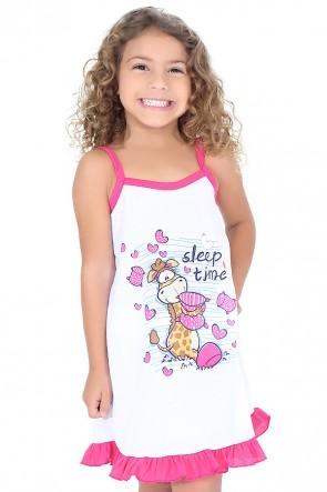 Camisola Infantil 141 (Pink com girafinha)