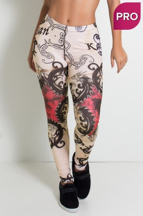 Legging Sublimada PRO (Dragon) | Ref: NTSP28