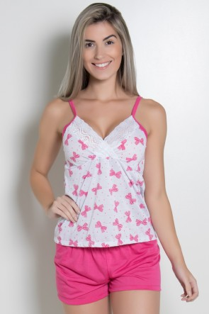 Babydoll Feminino 252 (Pink) AB | Ref: CEZ-BM07-002