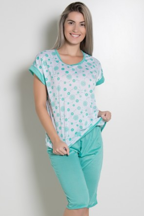 Pijama Pescador 032 (Verde Piscina)