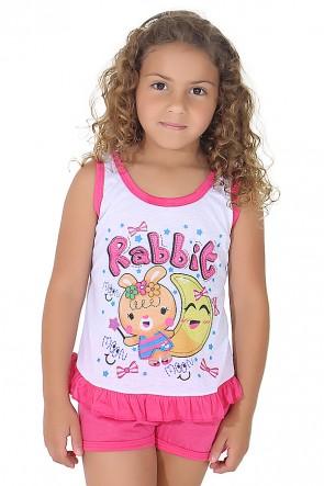 Babydoll Infantil 059 (Pink) | Ref: CEZ-PA059-001
