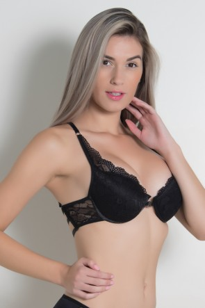 Sutiã Eliza 802 (Preto) | Ref: CEZ-DK802-002