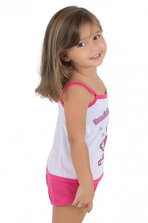 Baby-doll de Malha Infantil 035 (Pink) | Ref.: CEZ-PA035-004
