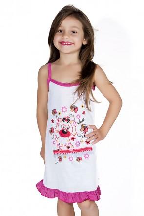Camisola Infantil 141 (Pink com cachorrinho) AB