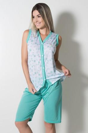 Pijama Pescador 098 (Verde Piscina) | Ref: CEZ-PA098-005